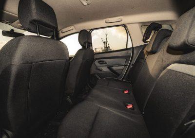 Dacia Duster 4x4 vnitřek vozidla