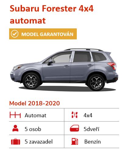 Subaru Forester terénní auto