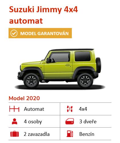 Suzuki Jimny auto pronájem na Islandu