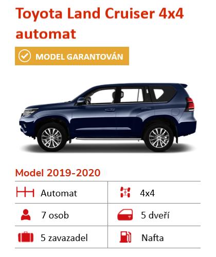 Toyota Landcruiser na Islandu