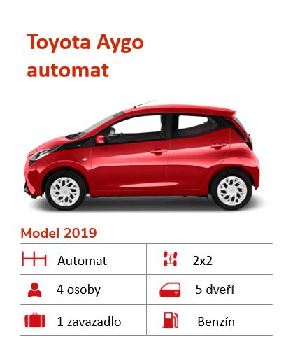 Auto k pronájmu na Islandu Toyota Aygo
