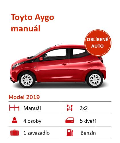 Auto Toyota Aygo na Islandu