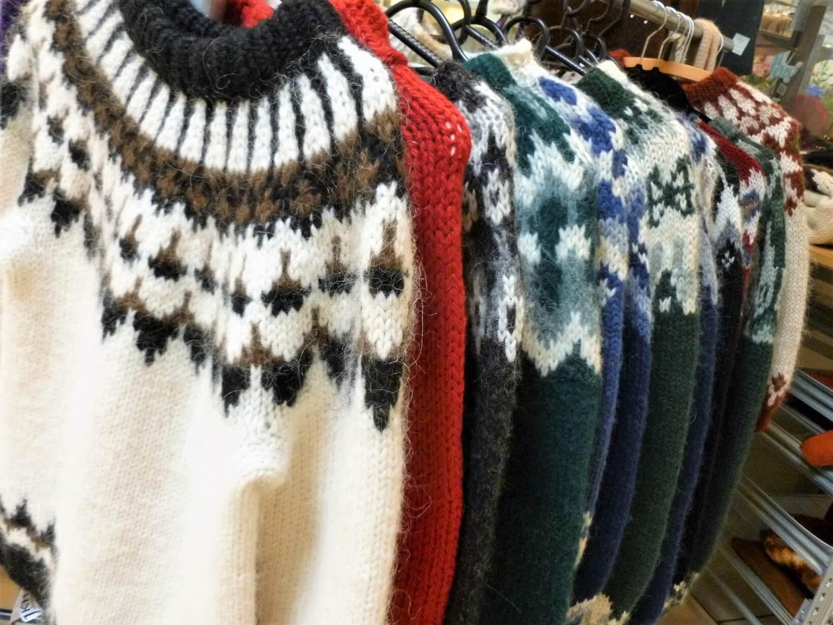 Islandské svetry
