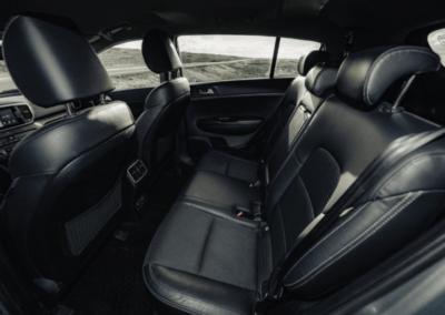 Kia Sportage auto interiér