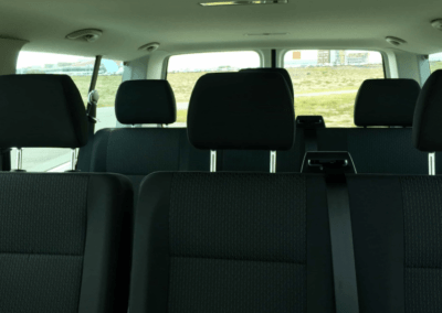 Volkswagen Caravelle auto interiér