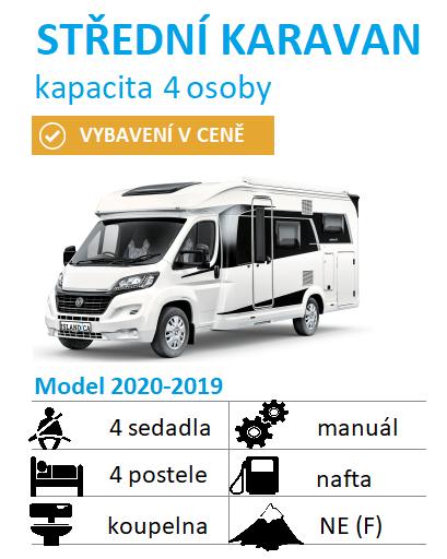 karavan pro 4 osoby