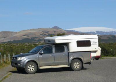 Camper 4x4 k pronájmu na Islandu