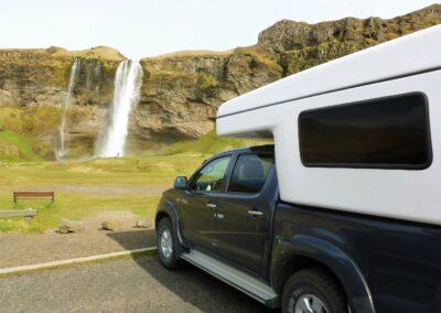 Camper obytne auto 4x4 na Islandu