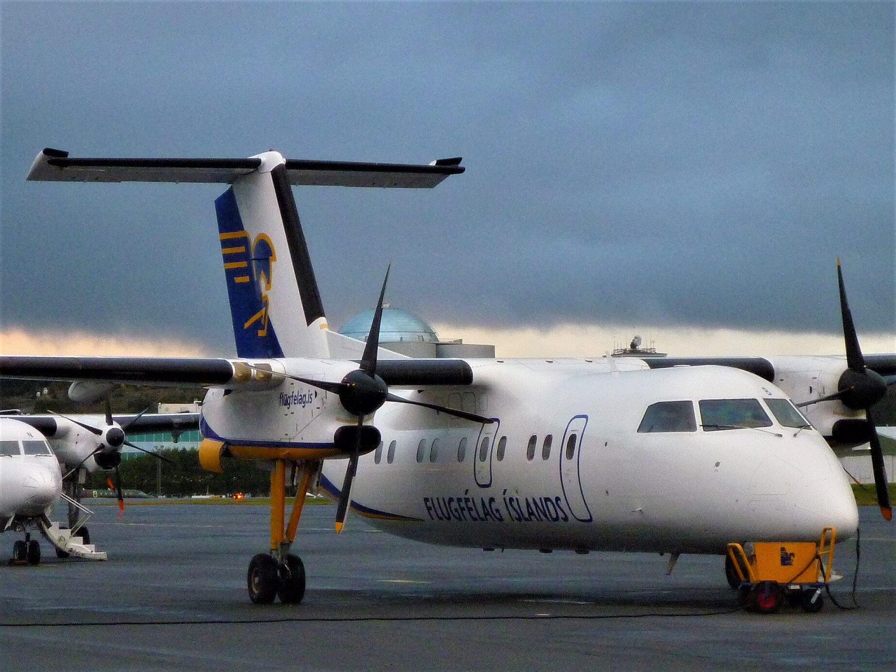 Letiště v Reykjavíku