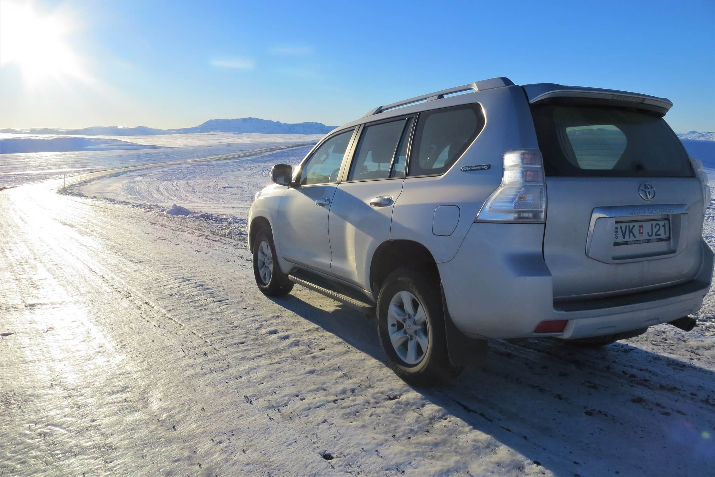 Pronájem auta Toyota Landcruiser na Islandu