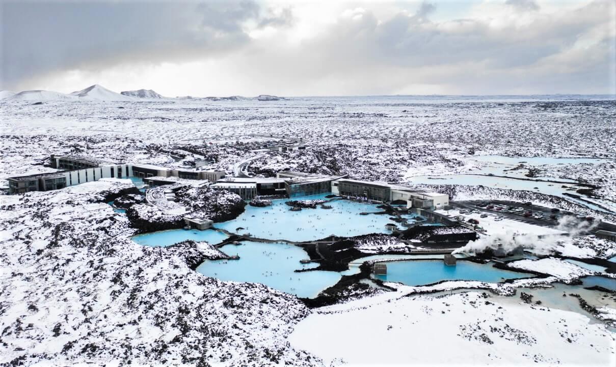 Blue Lagoon lázně Island