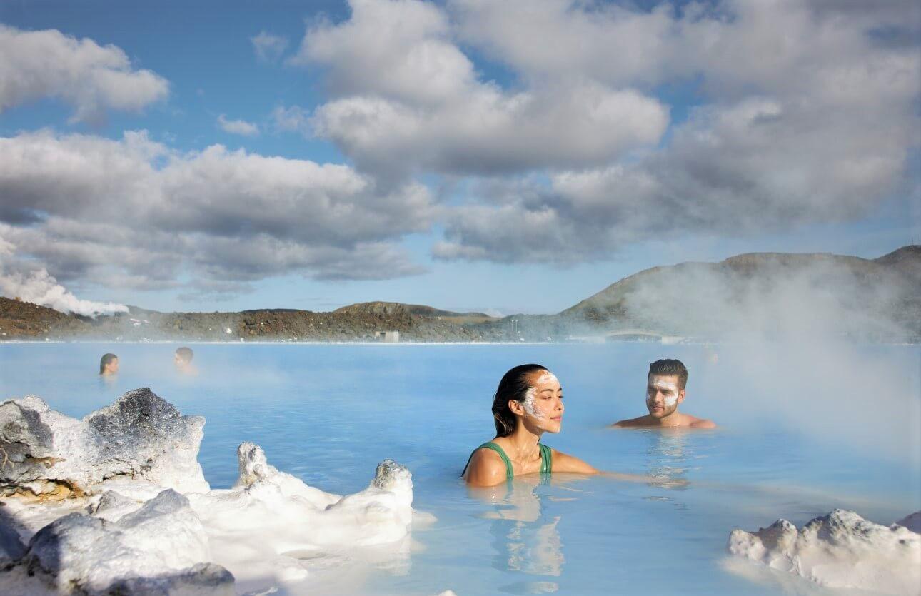 Lázně Modrá laguna na Islandu