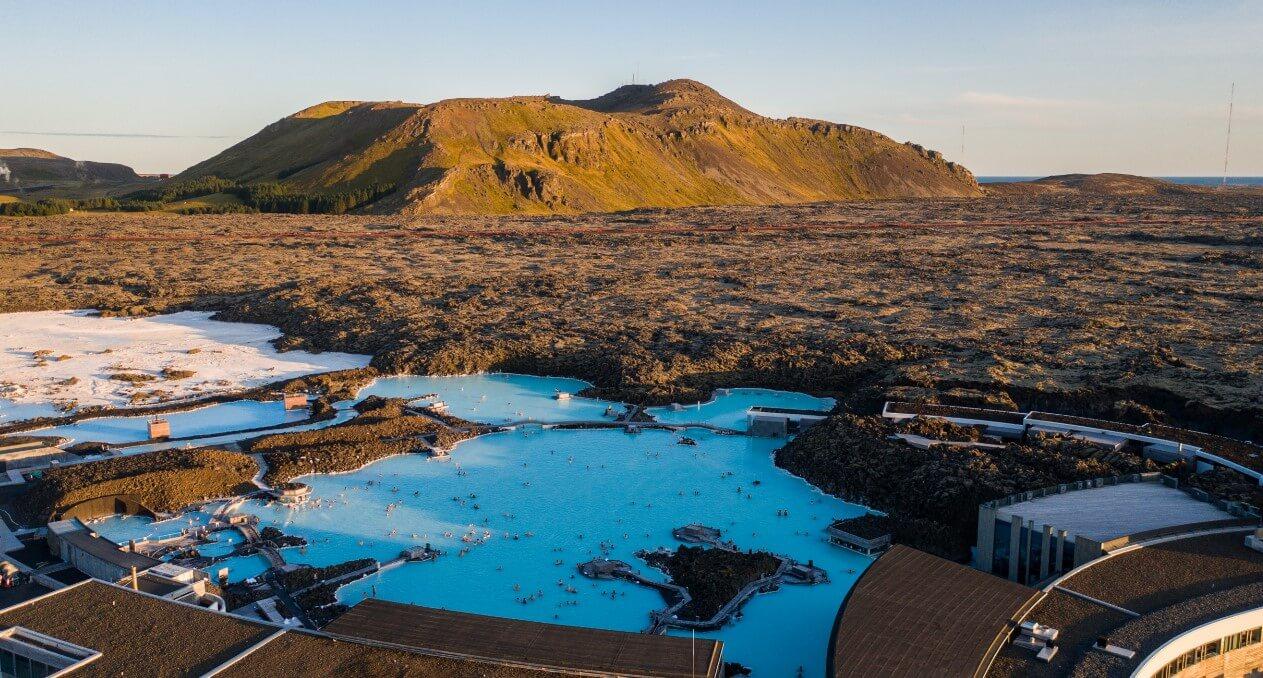 termály Blue Laggon Island