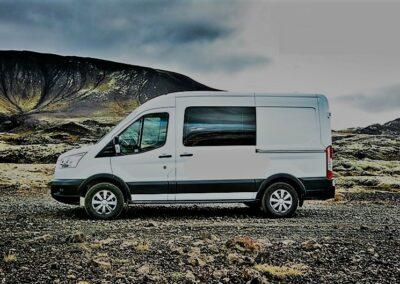 Camper k pronájmu na Islandu