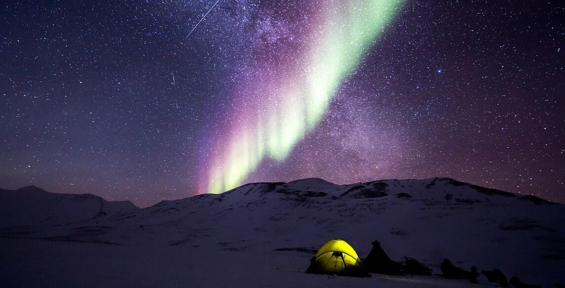 kempovaní na Islandu
